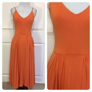 Cynthia Rowley orange dress